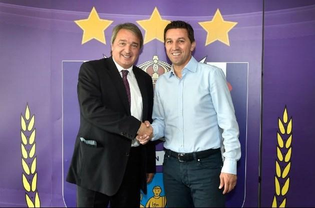 Besnik Hasi hoofdcoach bij Anderlecht tot 2016