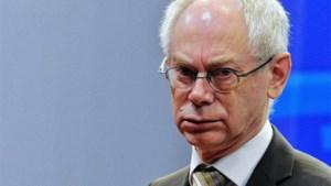 Herman Van Rompuy maandag naar Kiev