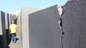 Holocaust-monument in Berlijn op instorten