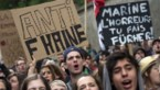 Duizend jongeren betogen in Brussel tegen Marine Le Pen