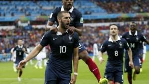 Frankrijk overklast Honduras