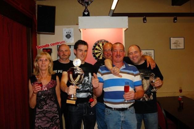 Dirty Darts kampioen in divisie 3B van de Belgische Darts Bond
