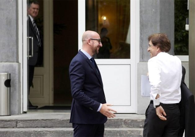 Michel praat anderhalf uur met Di Rupo