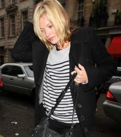 Vrouwen zien Kate Moss als rolmodel
