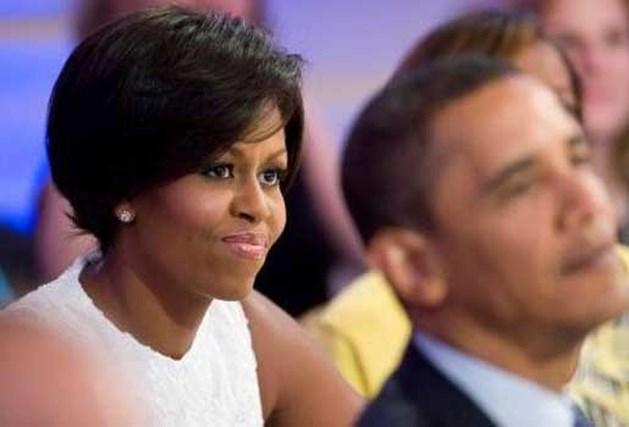 Michelle Obama zet nieuwe haartrend neer