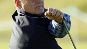 Bill Murray verwondt vrouw met golfbal