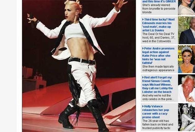 Gwen Stefani terug in topvorm na bevalling tweede kind